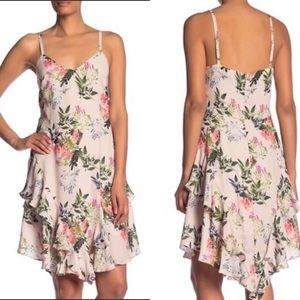 Parker Ruffle Portofino Floral Dress